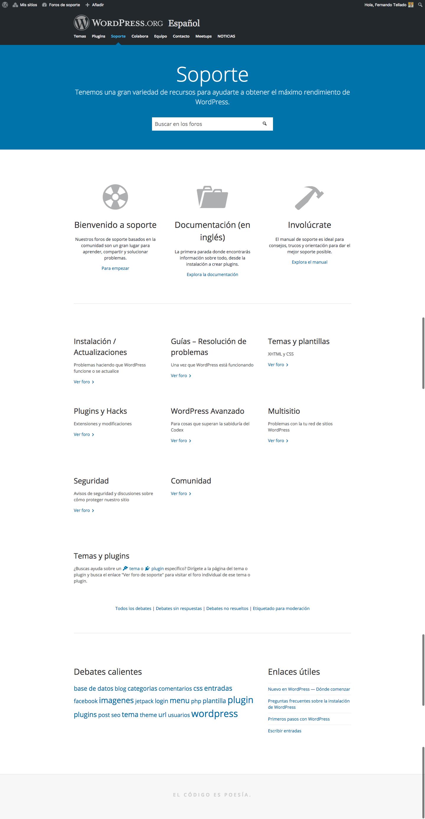 Reunión mods Foros WordPress en Español (07-09-2017) – Equipo ...