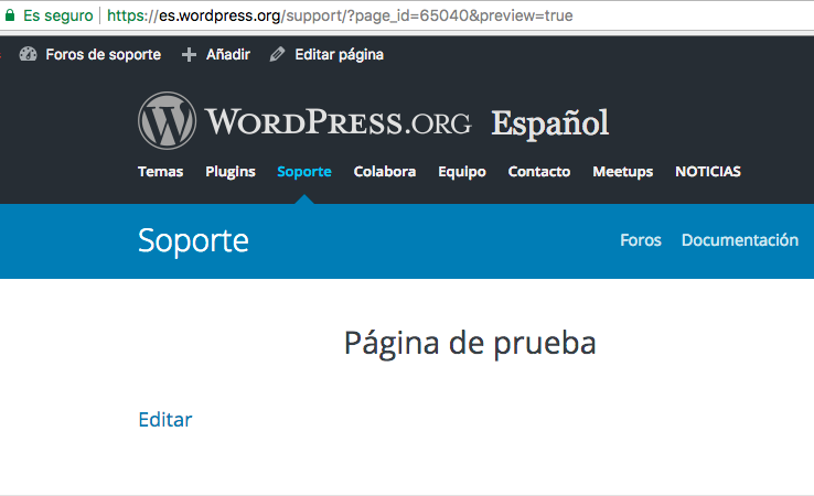 Equipo WordPress España